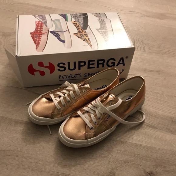 Superga 275 Cotu Metallic Sneakers Rose